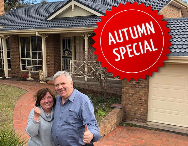 Get a minimum of $550 in Savings during out Autumn Special