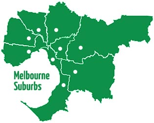 We service all Melbourne suburbs from Williamstown to Frankston, Essendon to St Kilda.